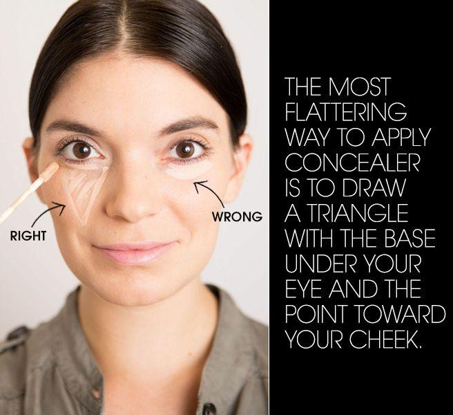 20 Genius Concealer Hacks Every Woman Needs to Know - Ways To Use Concealer - Elle