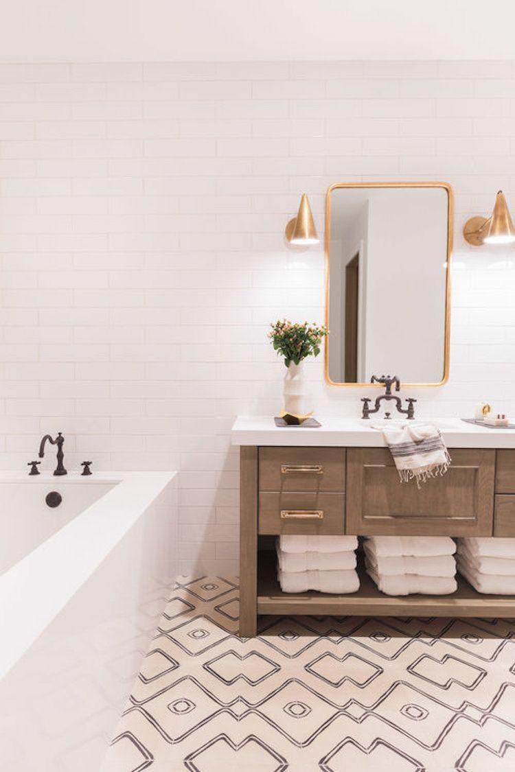Visite deco : le style chalet blanc par Nicole Davis