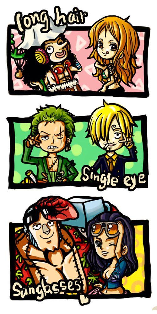 Straw hats pirate crew Usopp, Nami, Roronoa Zoro, Sanji, Franky, Nico Robin One piece