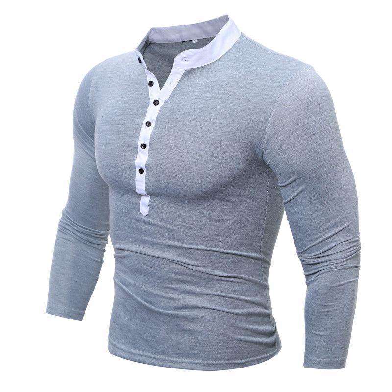 Mens Polo Shirt Brands 2017 Male Long Sleeve Fashion Casual Slim ...