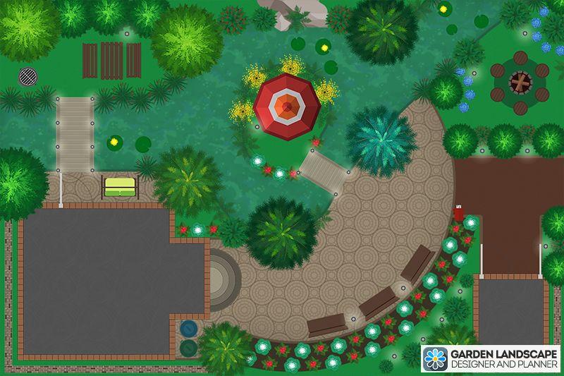 New Free Android Or Ios Landscape Design App Create Impressive Landscape Design On Your Tablet In Just A Few Landscape Design App App Design Landscape Design