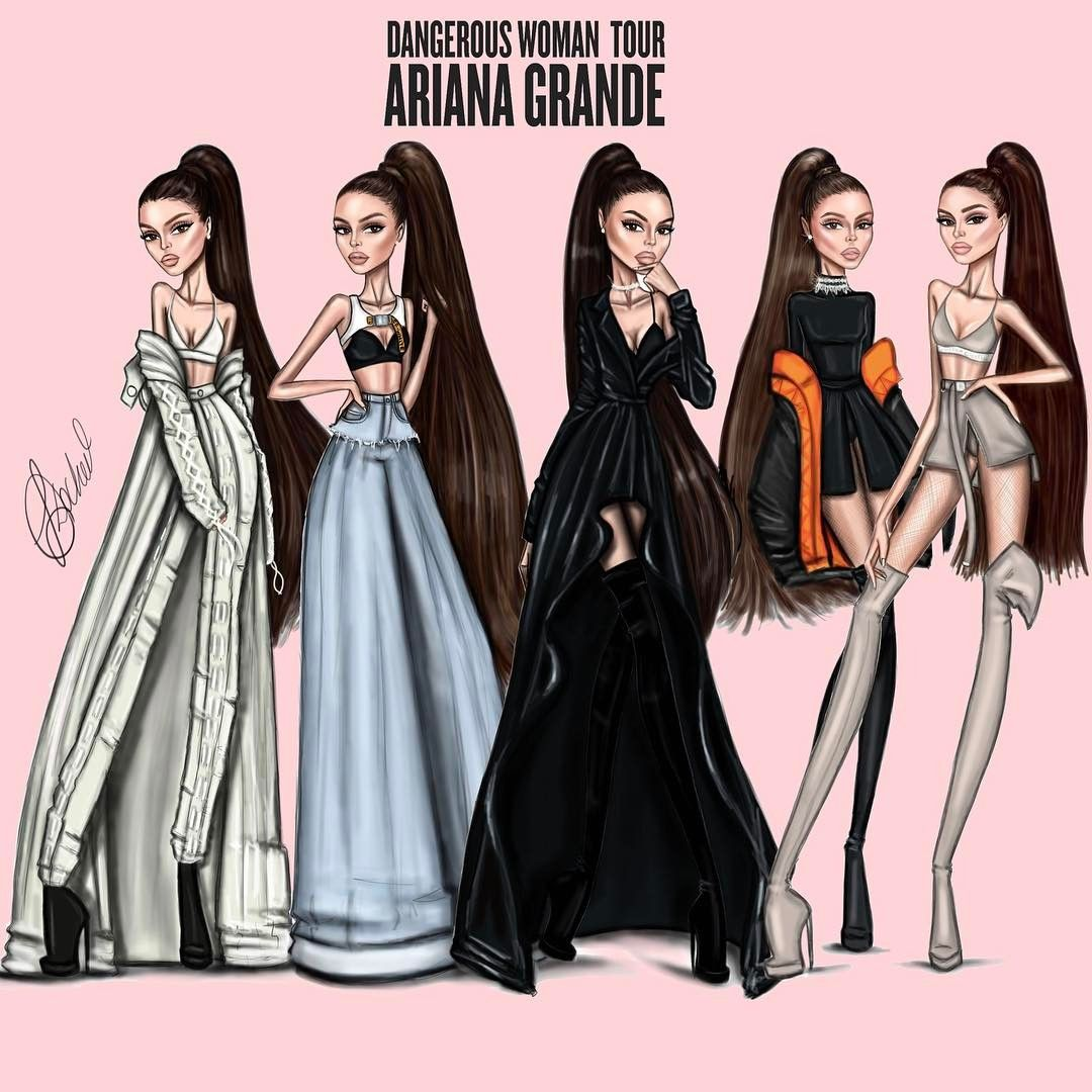 All Five Dangerous Woman Tour Outfits Arianagrande Can T Wait To