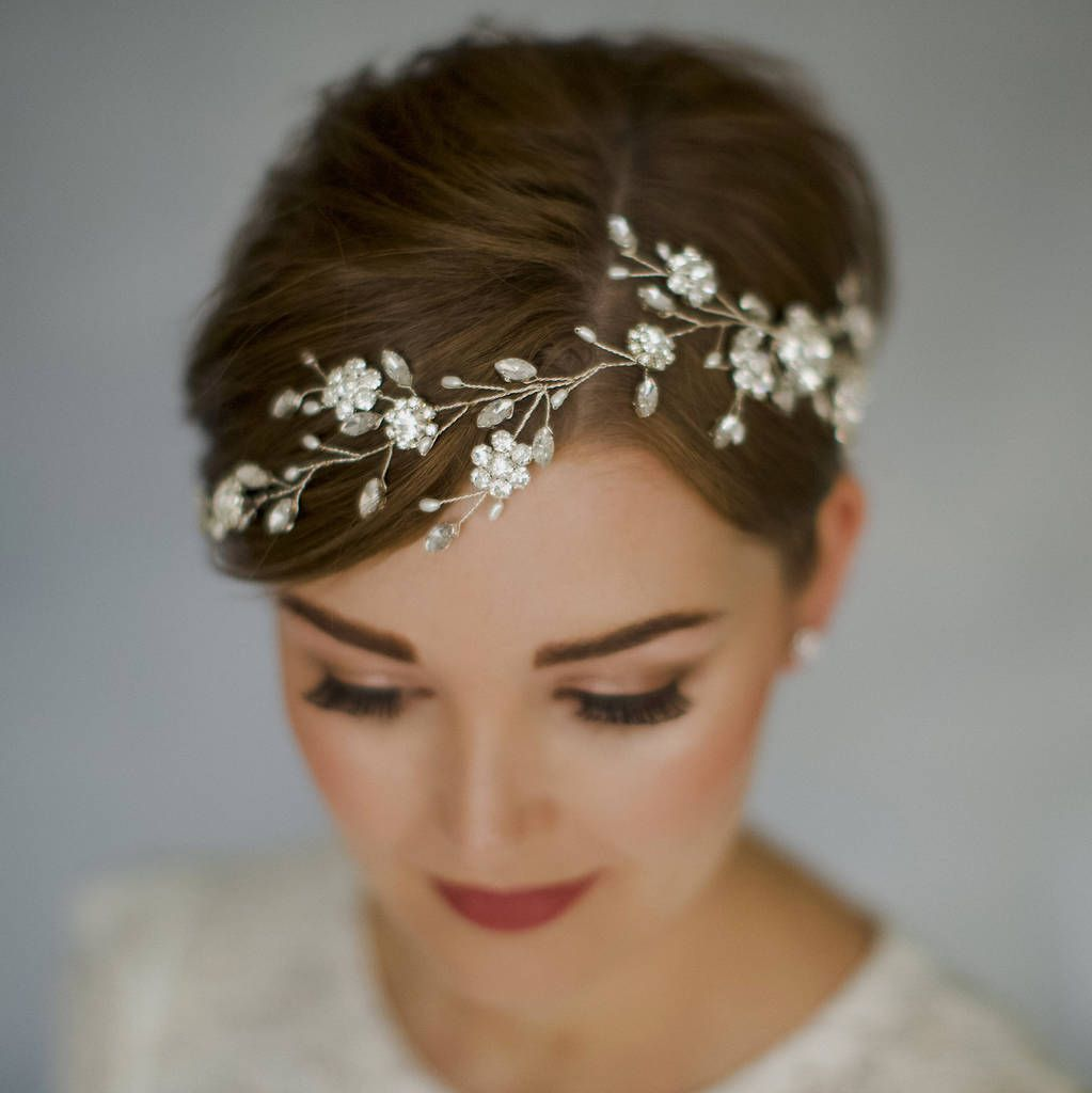 Are You Interested In Our Bohemian Bridal Hair Vine With Wedding Headpiece