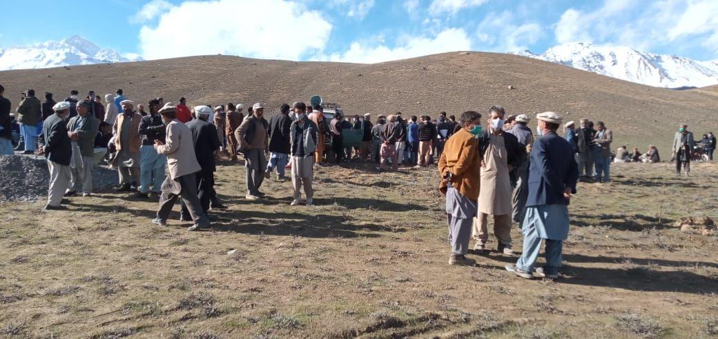 بونی۔ قاقلشٹ میں ضلعی انتضامیہ کی جانب سے تجاوزات مسمارکرنے پر عوام کا شدید ردعمل, احتجاجی مظاہرہ