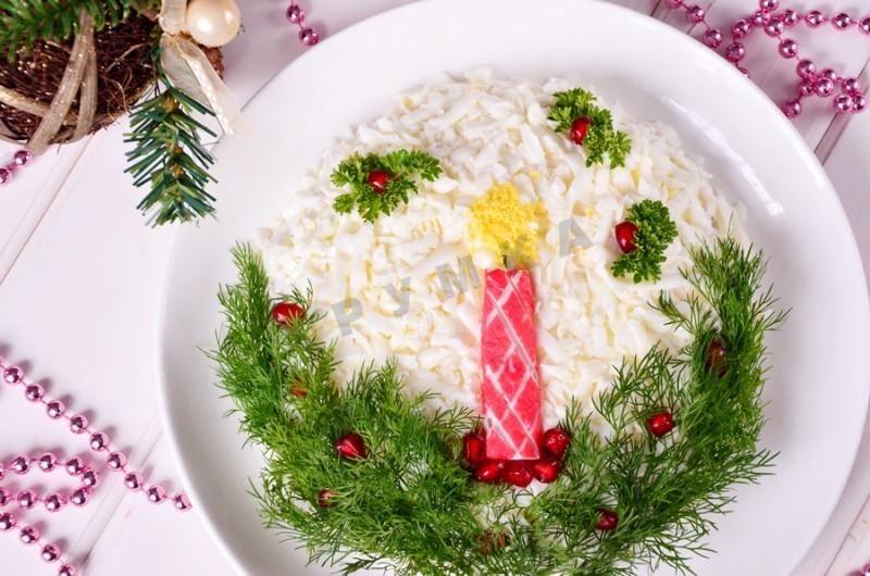 Картинки новогодние салаты, поздрав приободряющие