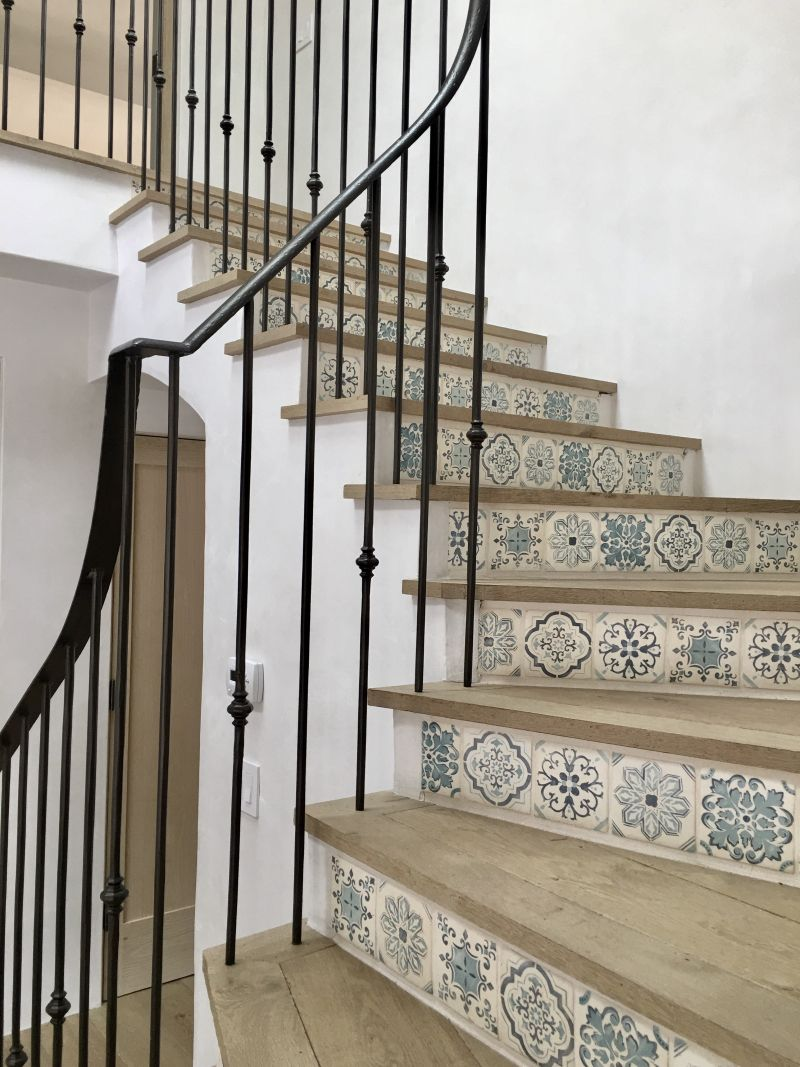 Escalier En Carreaux De Ciment A New Project For A New Year Idées Décoration Pinterest