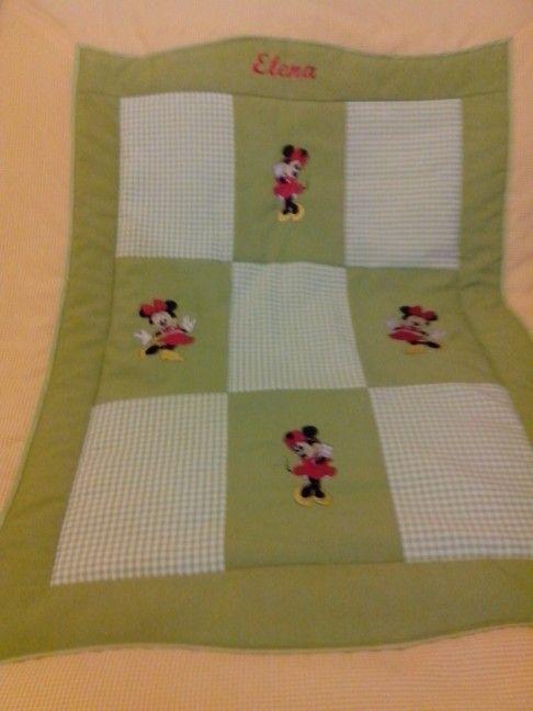 Cobertor cuna bebe Personalizado