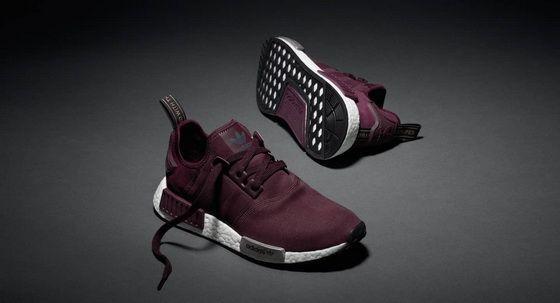 adidas dark red shoes