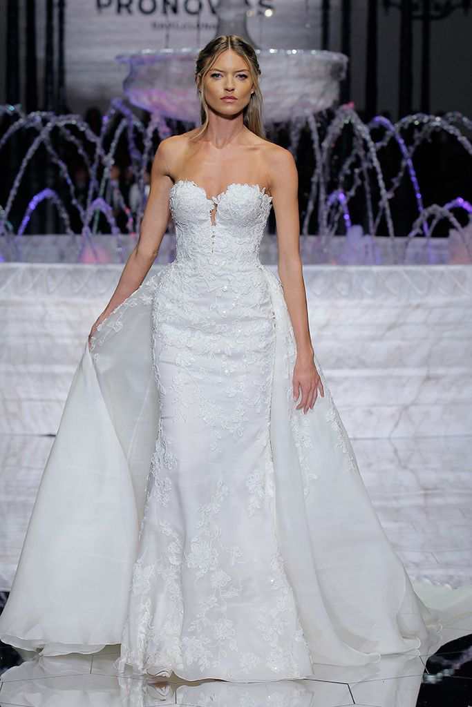 Fabulous Pronovias Atelier Collection Barcelona Bridal Week