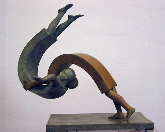 Resultado de imagen de Jean Louis Corby - escultura, bronce