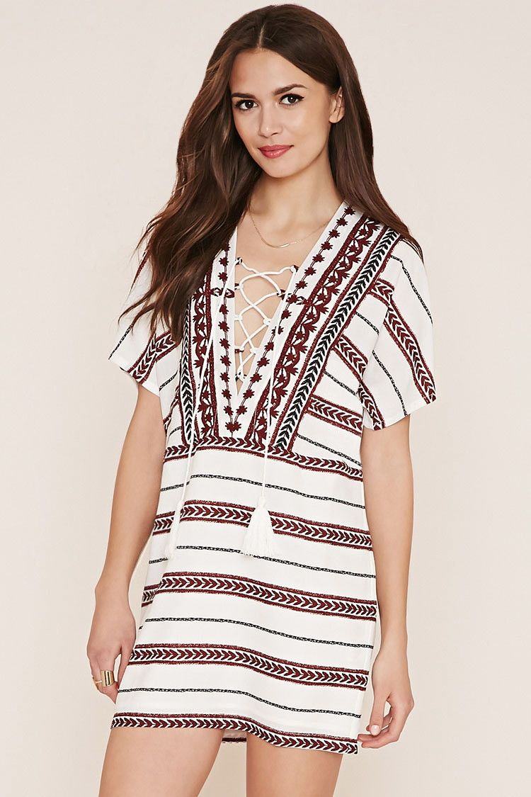 Contemporary Lace Up Dress New Arrivals Clothing 2000153062 Forever 21 Uk