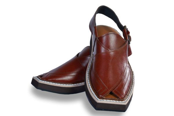 Kaptaan Mustard Dark Brownish Kaptaan Chappal Style Peshawari Chappal Code 609 This Peshawari Chappal Is Made Of Gen Genuine Leather Chelsea Boots Style
