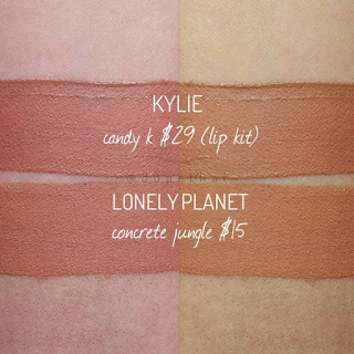 Dupethat: Kylie Lip Kit Candy K Dupes