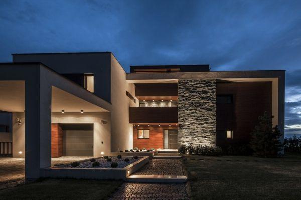 Residence bauhaus villa moderne