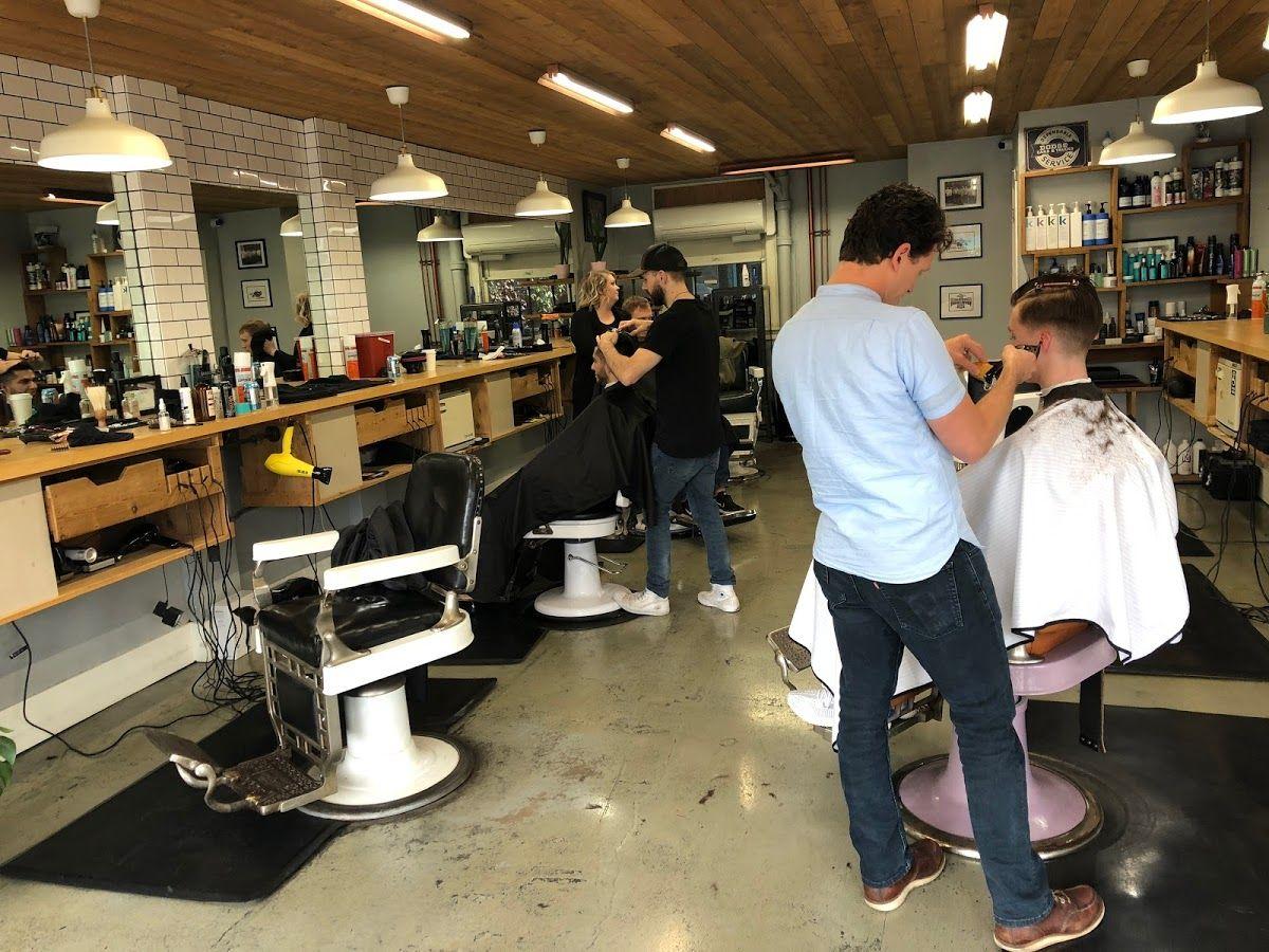 Brick Mortar Barbershop In Portland Oregon By Ladyvonbarber Barber Shop Google Reviews Mortar