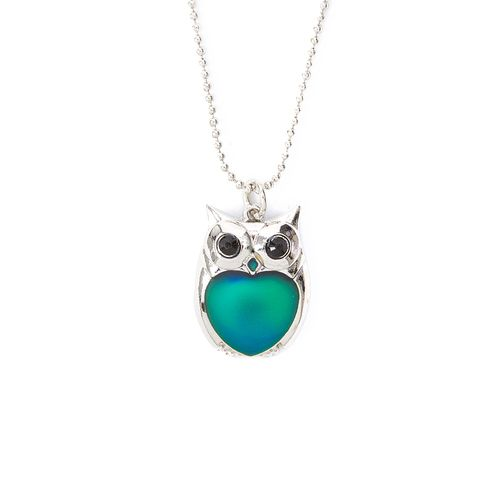 Owl mood pendant necklace claires owls6 pinterest owl owl mood pendant necklace claires aloadofball Gallery