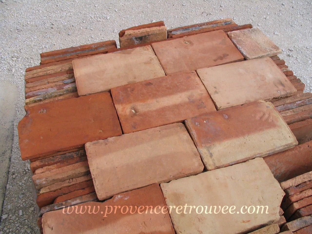 Old Parefeuille 9 X 14 Terra Cotta Terre Cuite Parefeuille Brique