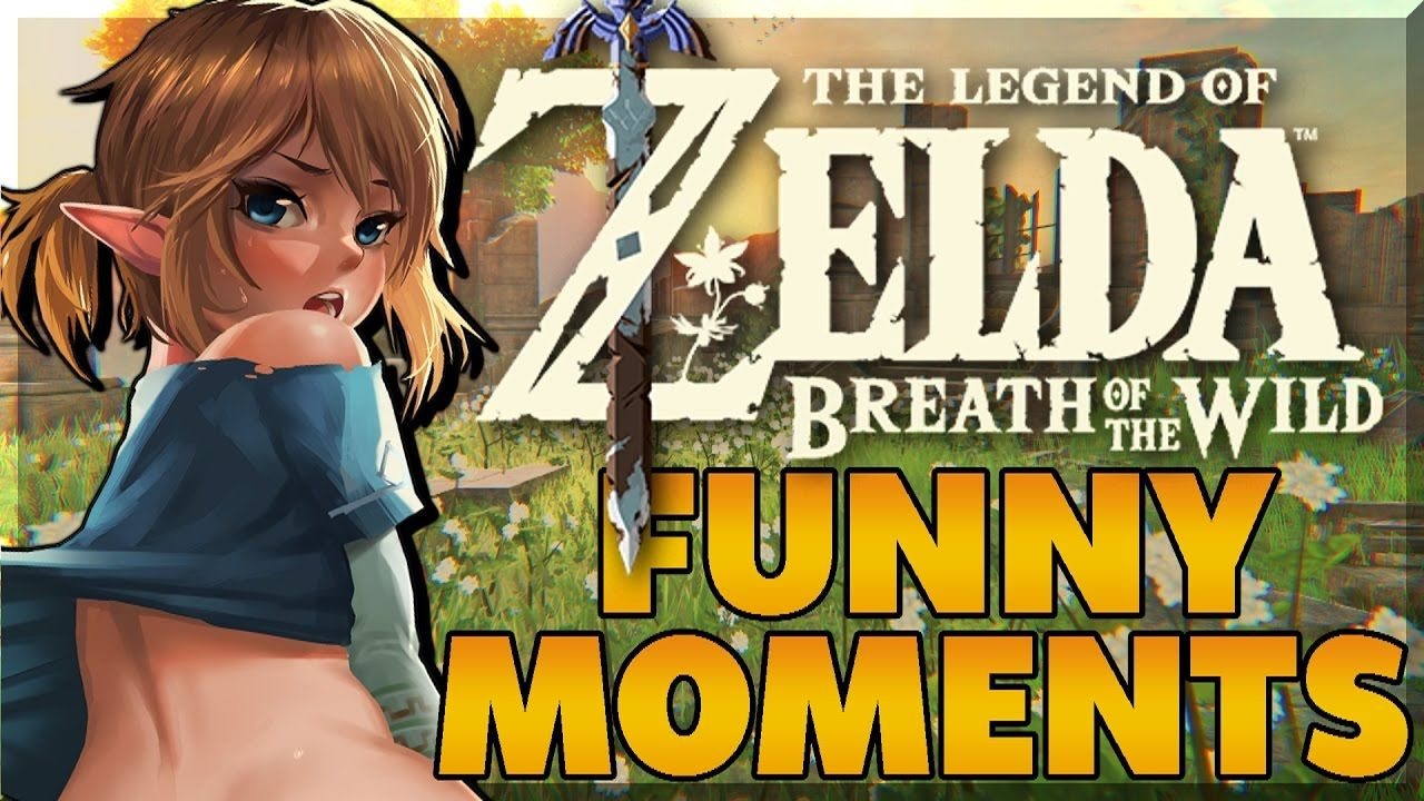 The Legend Of Zelda Breath Of The Wild Funny Moments Pt