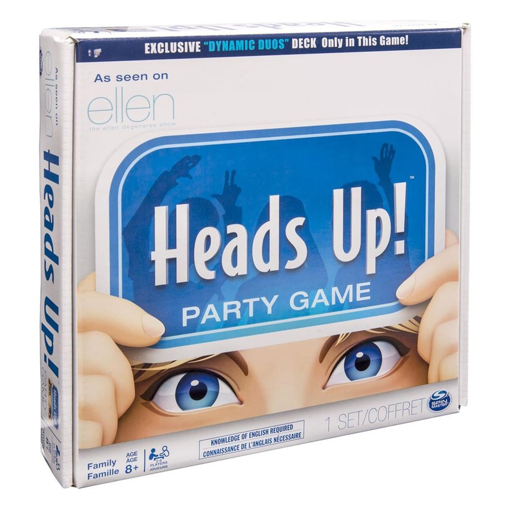 Heads Up! Party Game by Spin Master Party games, Family