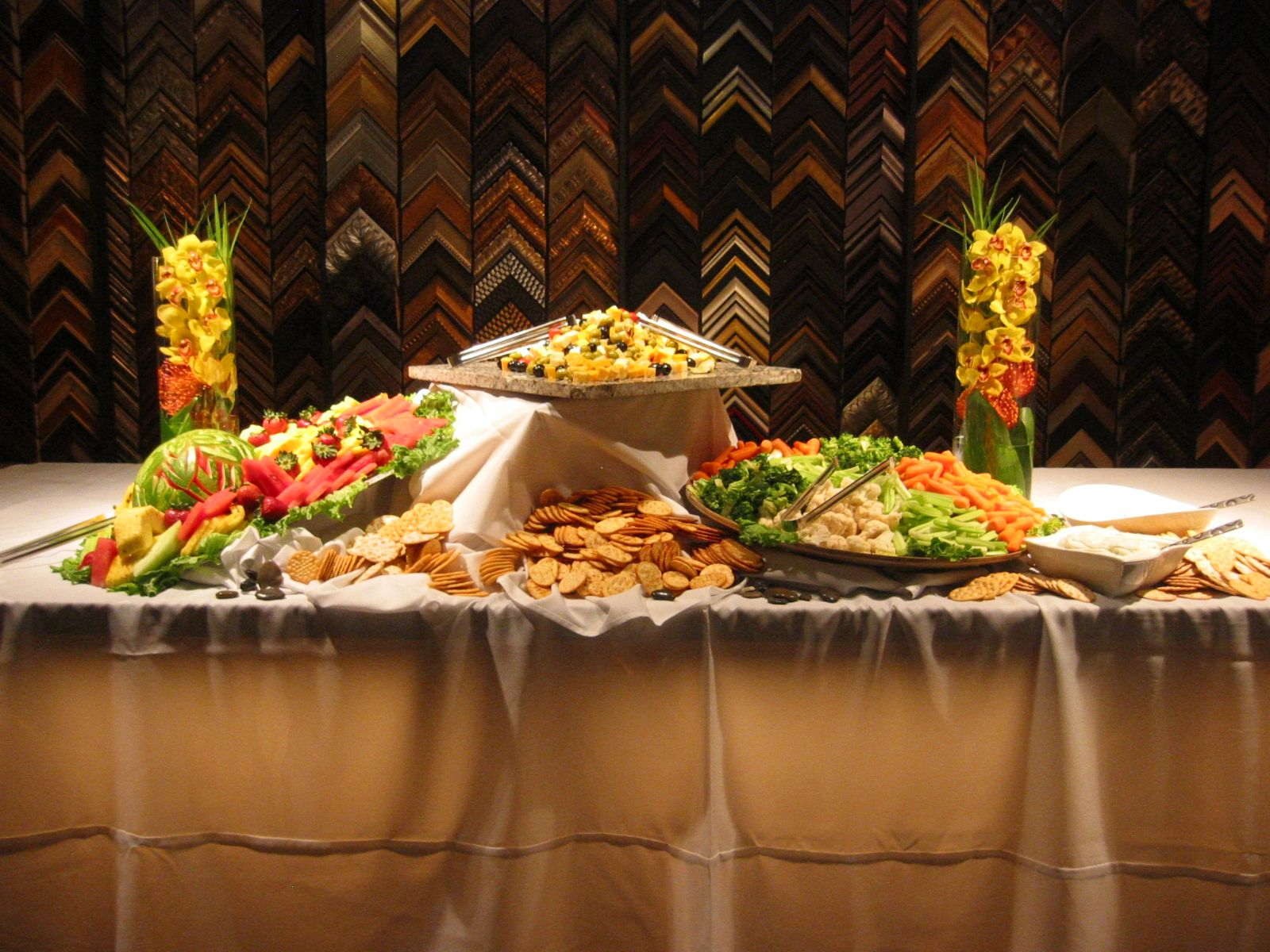 Exquisite Food Available By Vitters Catering