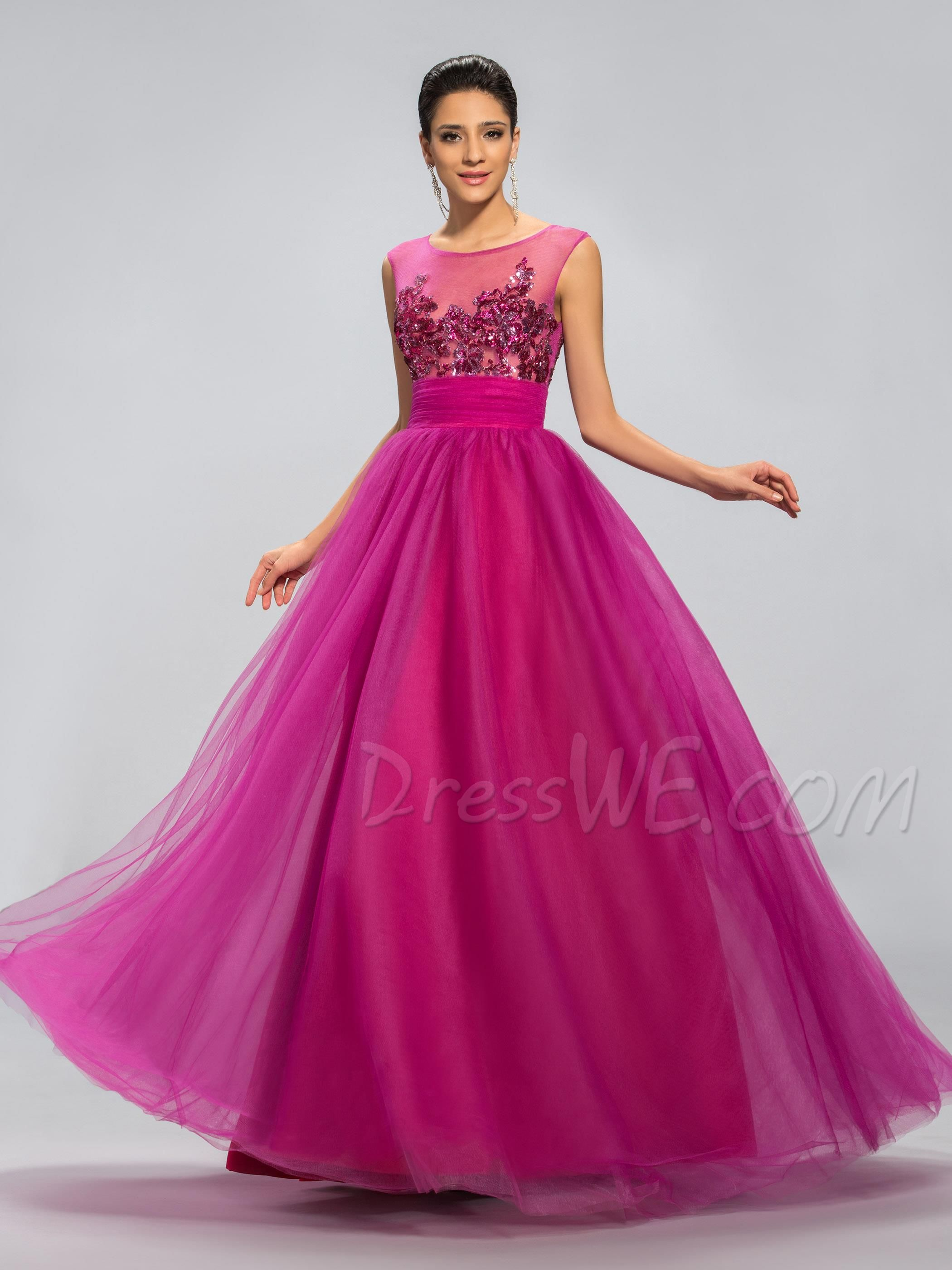 VESTIDO FUCSIA | bodas | Pinterest | Vestido fucsia, Fucsia y Ropa