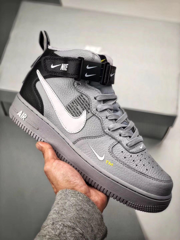 Nike Air Force 1 Mid 07 Lv8 Sneaker Av3803 001 Sneakers Men Fashion Nike Air Shoes Sneakers Fashion