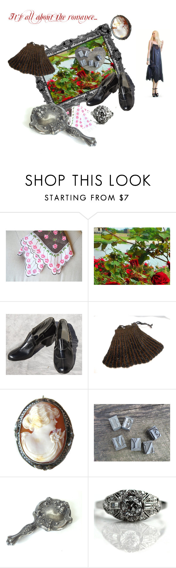 """It's all about the romance..."" by starshinevintage ❤ liked on Polyvore featuring Empire Silver and vogueteam"