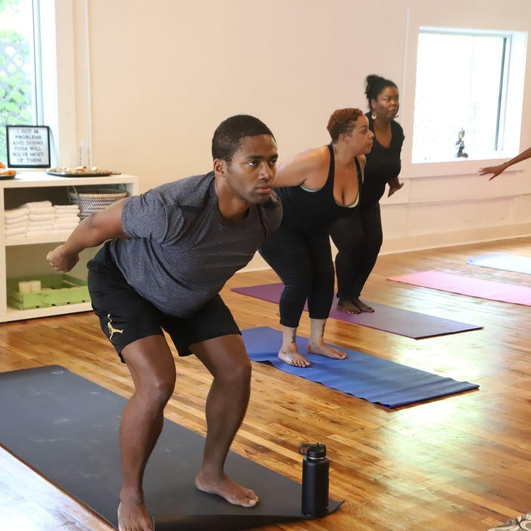 8 Black Owned Yoga Studios In Atlanta Atlanta Yoga Yoga Studio Wellness Yoga