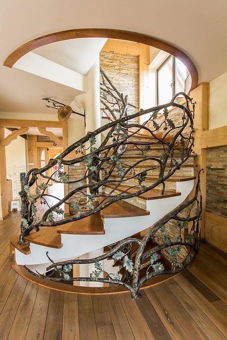 les escaliers id e vir pinterest escalier design rampe escalier et escaliers interieur. Black Bedroom Furniture Sets. Home Design Ideas