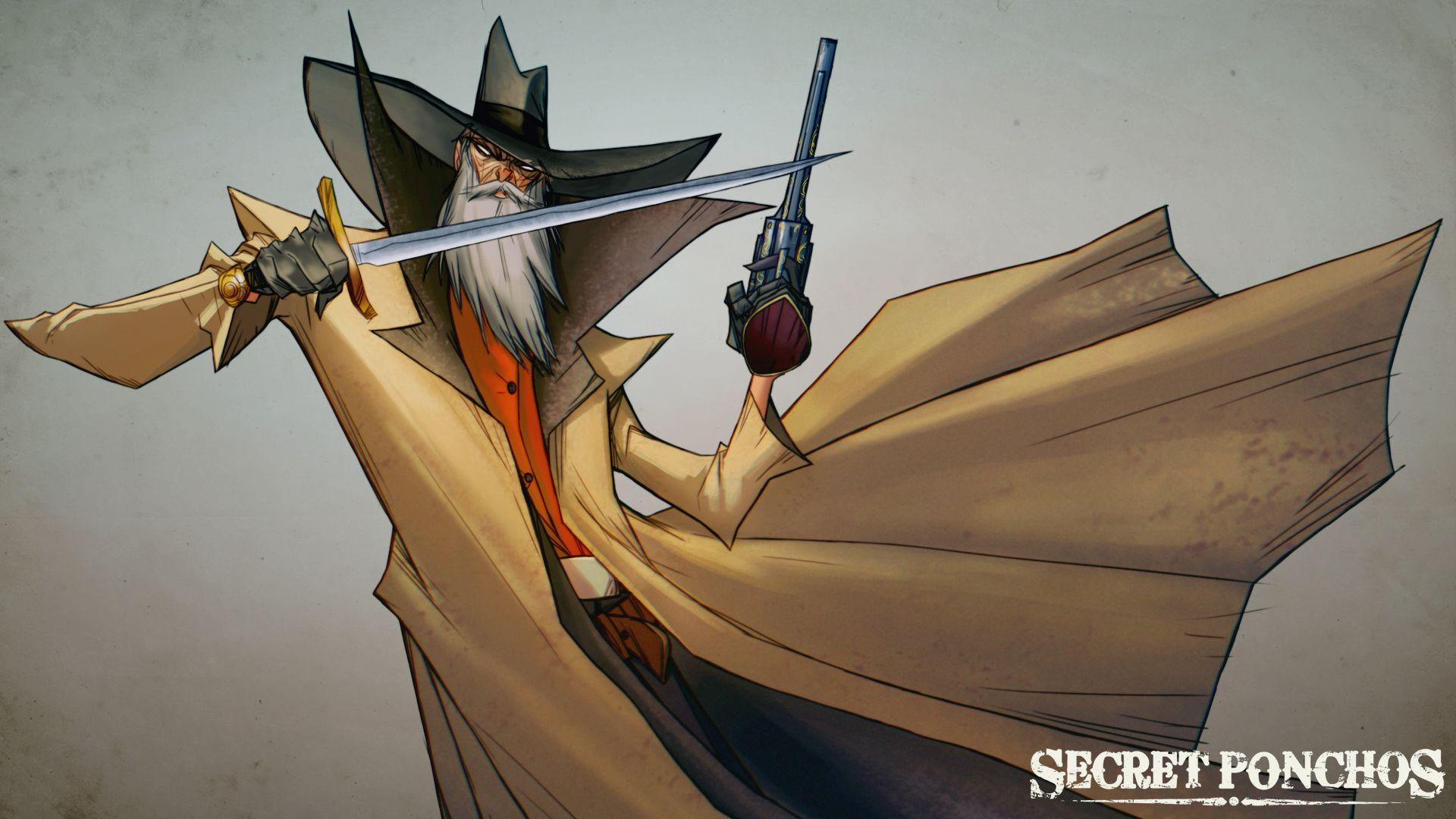 Secret Ponchos. The Killer