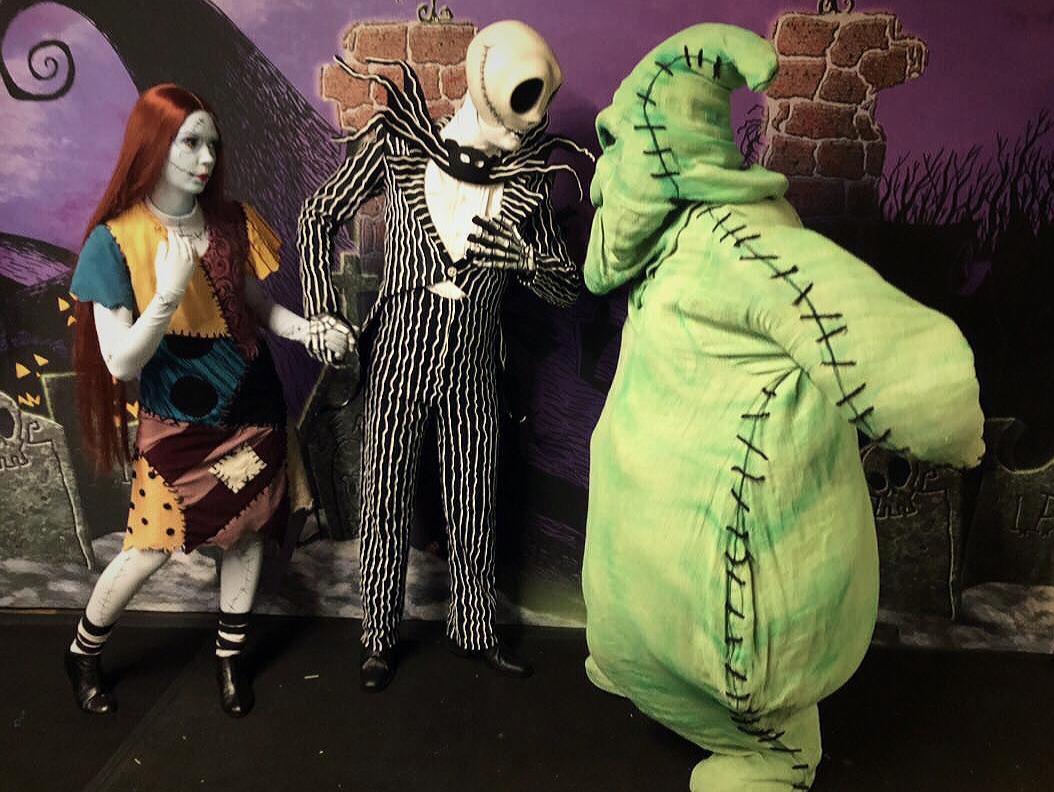 Jack Skellington and Oogie Boogie Nightmare Before Christmas