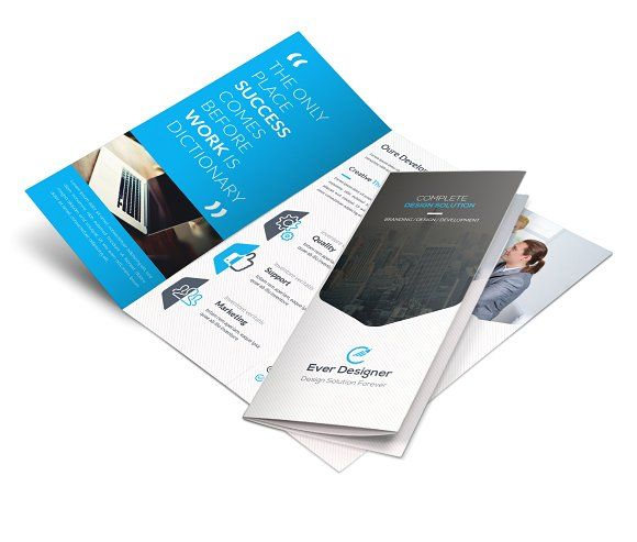 Business Trifold by Creative Idea on @creativemarket Graphis
