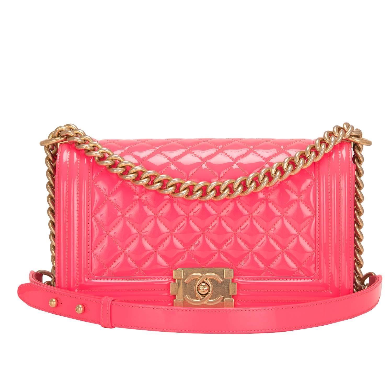 1b2856c917d0 Chanel Red Python Medium Boy Bag   My 1stdibs Favorites   Bags ...