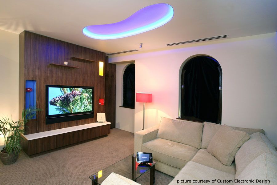 Media Walls Living Rooms - Home Design