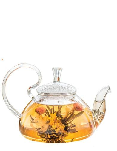 Blooming Tea Glass Tea Pot #teapotset