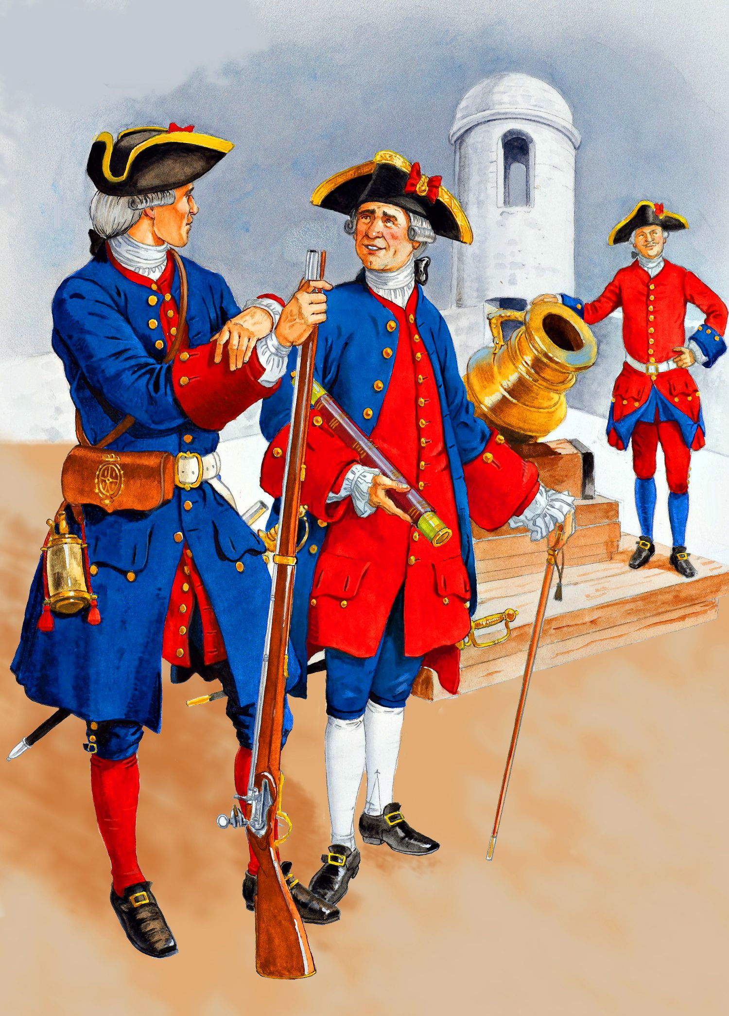 The Spanish Infantry In North America