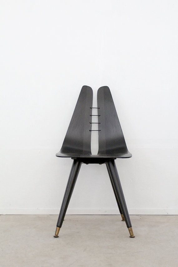Mid century chair / black desk chair | Home | Pinterest ...