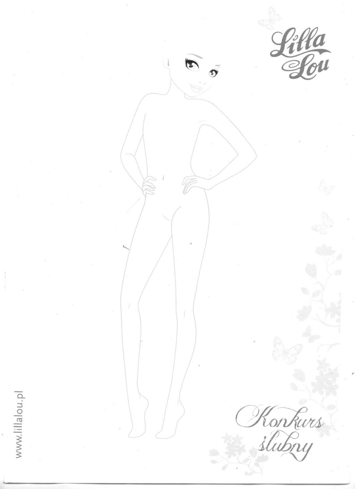 Pingl par olga helwich sur topmodel mannequin drawing design model et model - Top model a imprimer ...