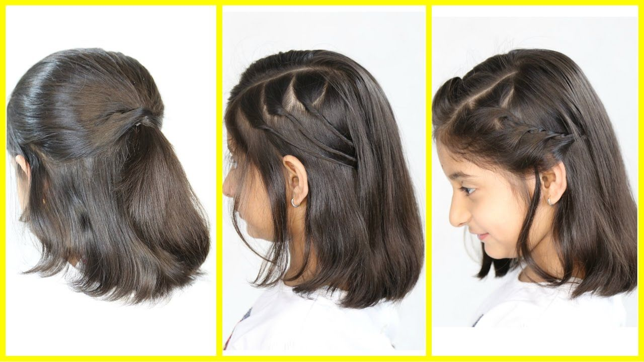 Hairstyle For Short Hair For Girl Hairstyleblog Hairstyleawesome In 2020 Medium Hair Styles Cute Hairstyles For Short Hair Short Hair Styles Easy