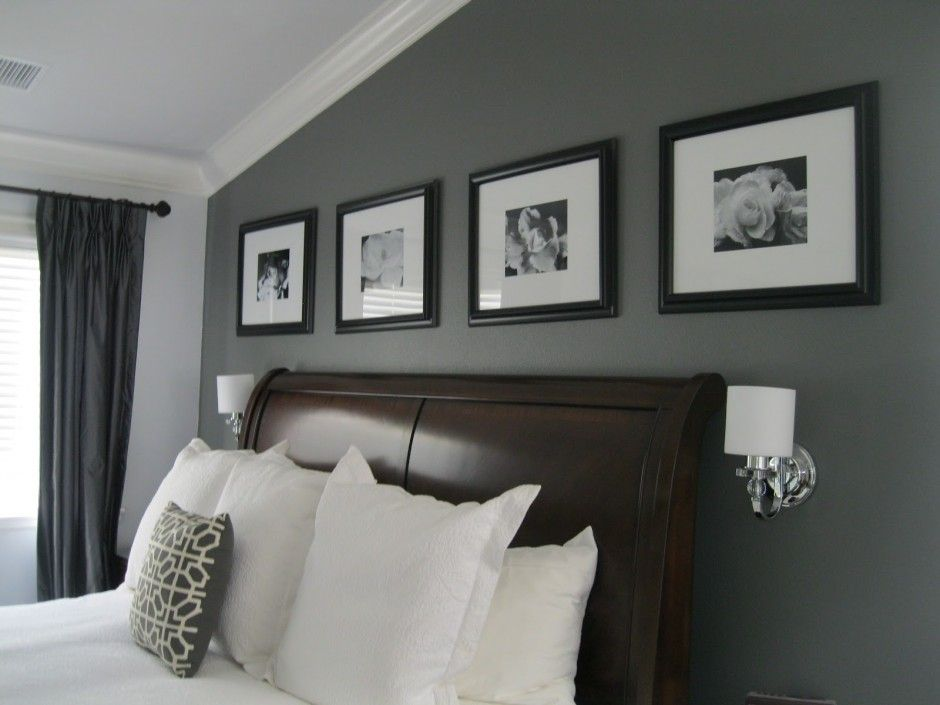 Pin by Leah Mader on Bedroom | Pinterest | Grey curtains and ...