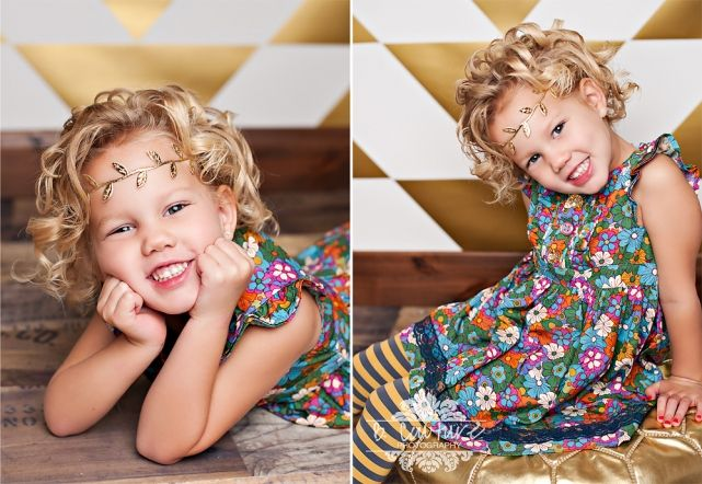 I just LOVE when I get little fashionistas in the studio…and Kycie is one of the cutest little girls I've ever met!  We got to do SO many cute outfit changes, and so many fun setups!  M…