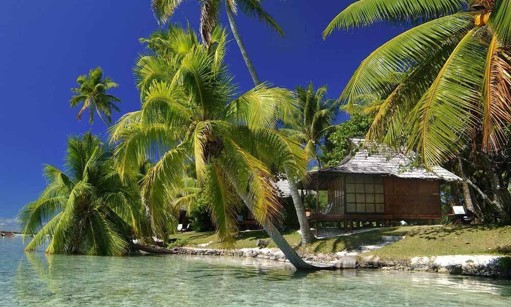 Vahine Island Private Resort Beach