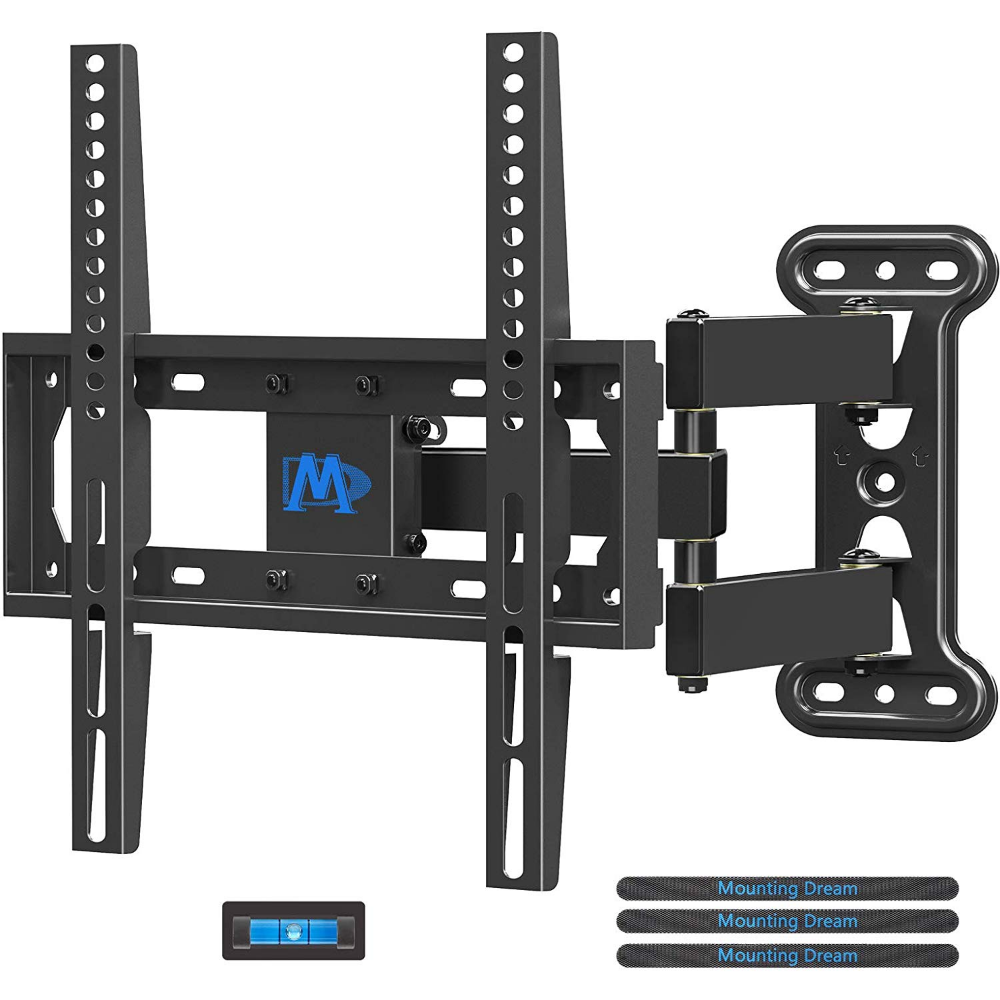 Amazon Com Mounting Dream Tv Mount Full Motion With Perfect Center Design For 26 55 Inch Led Lcd Oled Flat Wall Mounted Tv Tv Wall Mount Bracket Mounted Tv