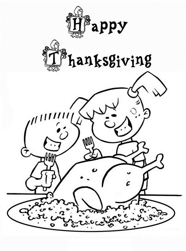 Printable Thanksgiving Coloring Pages For kKds | anchor chart ...
