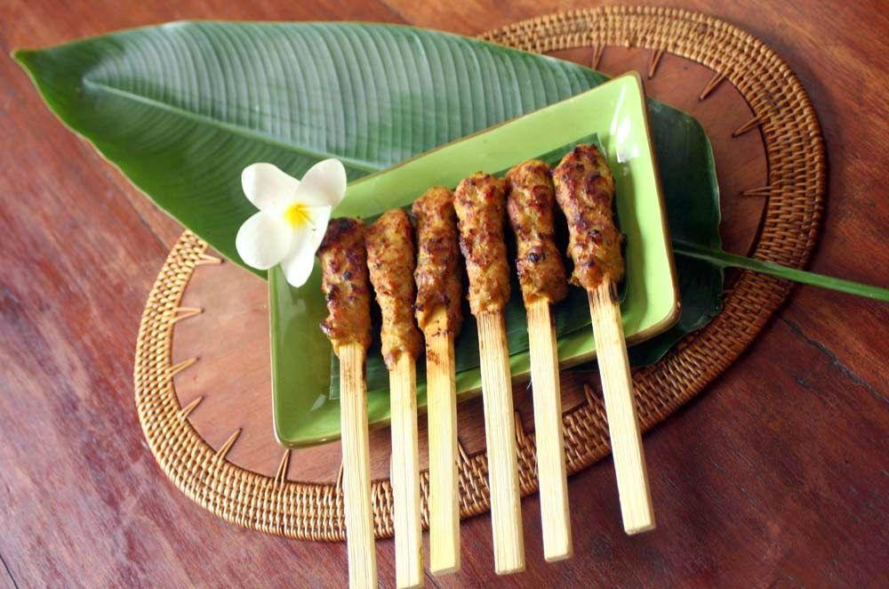 Resep Khas Bali Sate Lilit Resep Resep Masakan Indonesia Makanan