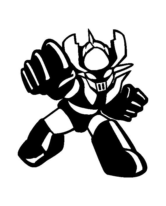 Pegatina Mazinger Z In 2019 Proyectos De Vinilo Proyectos Con