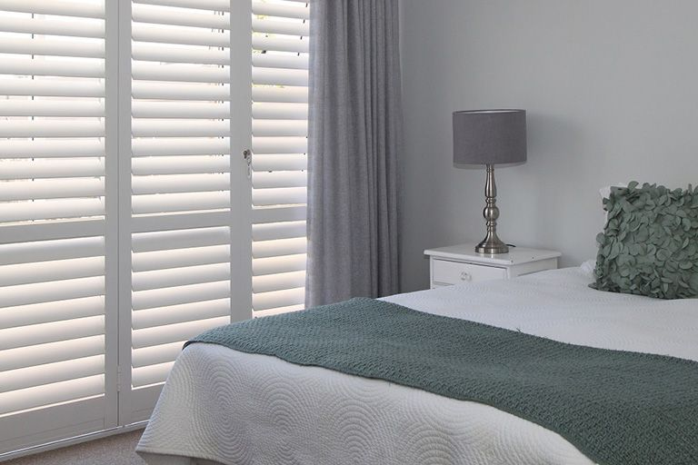 Security Shutters for bedroom doors by The Aluminium