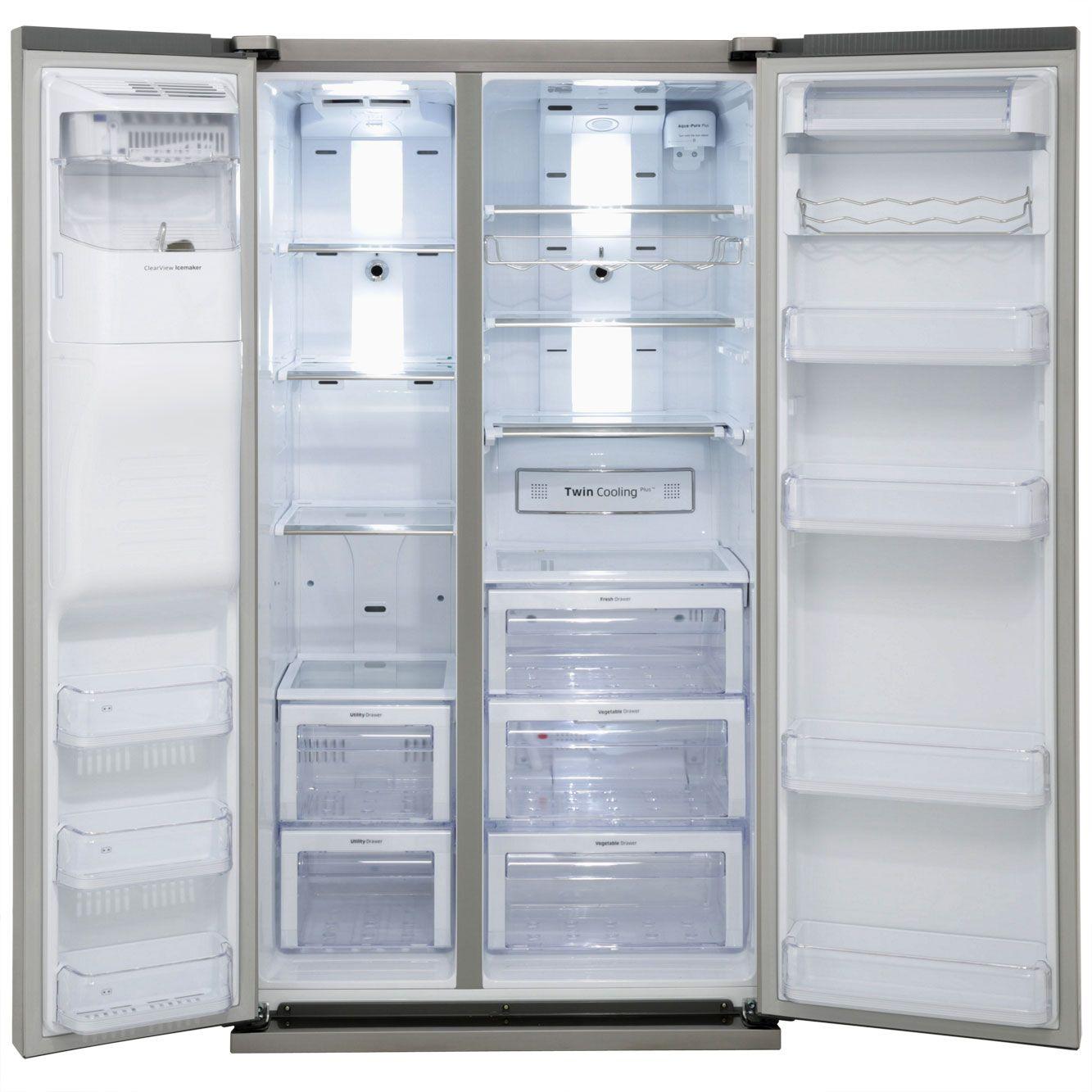 Large Capacity American Fridge Freezer Part - 20: Samsung American Fridge Freezer | RSG5UCRS | Ao.com