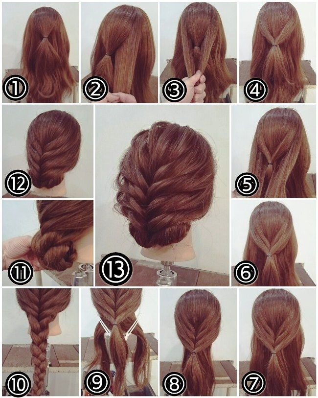 Simple Party Hairstyles For Long Hair Tutorials Step By Step Party