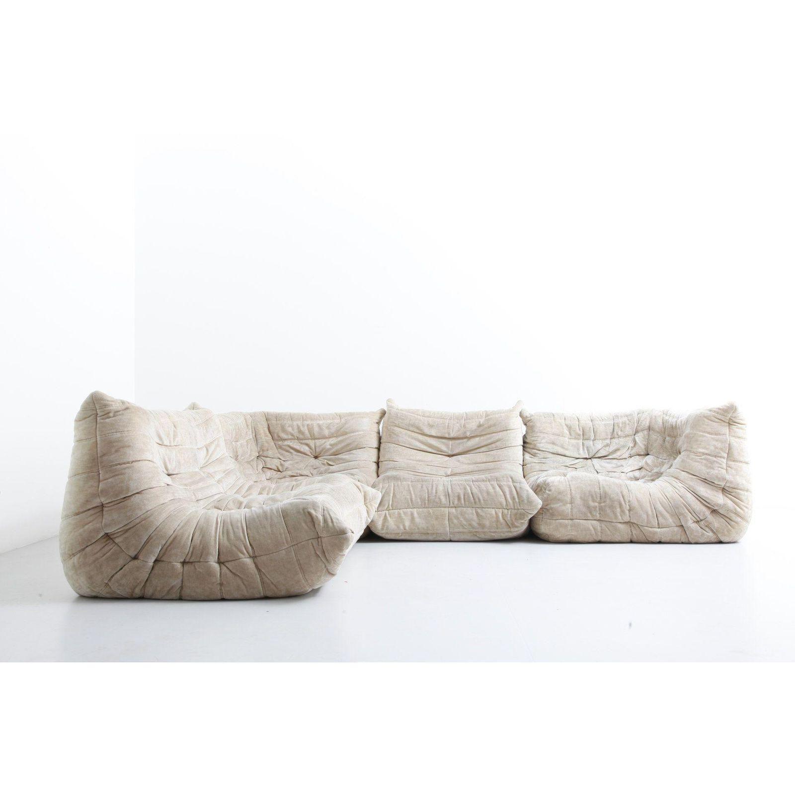 Michel Ducaroy Ligne Roset Togo Sectional Vintage Sofa Chic